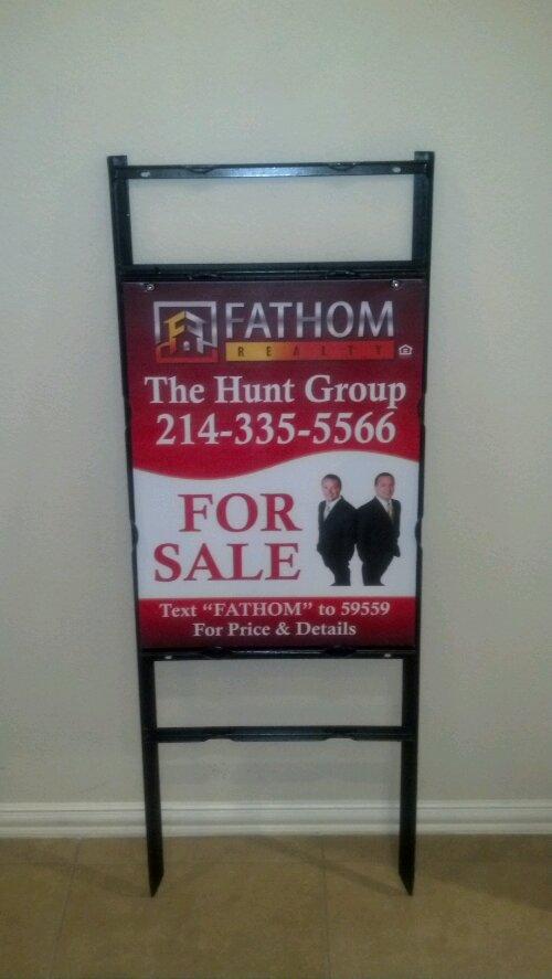 real estate marrvelous signs designs